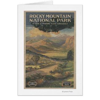 Cartes Brochure rocheuse de parc national de Mt. # 1