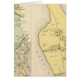 Cartes Bronx le comté de Westchester New York