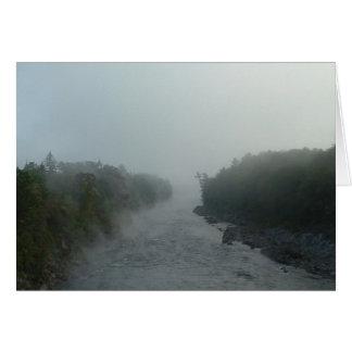 Cartes Brume 1 de rivière