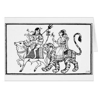 Cartes Buffalo et tigre