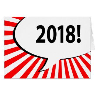 Cartes bulle 2018 comique