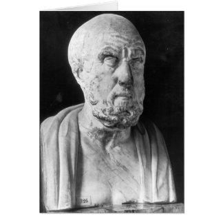 Cartes Buste de Hippocrate