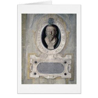 Cartes Buste de portrait de Joannes Stradanus, p