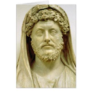 Cartes Buste de portrait de Marcus Aurelius