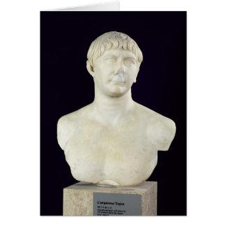 Cartes Buste de Trajan c.108