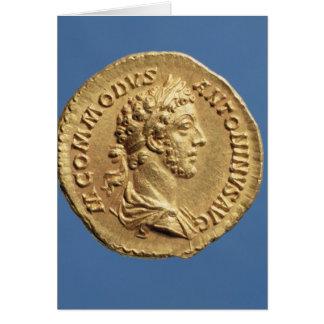 Cartes Buste doré de Commodus