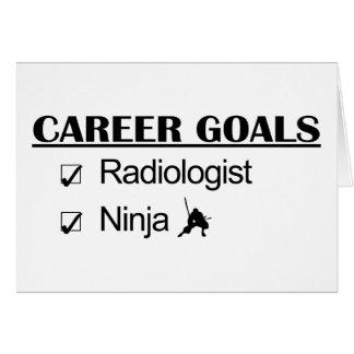 Cartes Buts de carrière de Ninja - radiologue