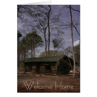 Cartes Cabine de retraite, maison bienvenue