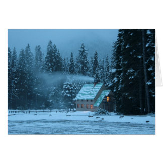 Cartes Cabine d'hiver
