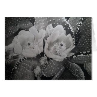 Cartes Cactus en fleur