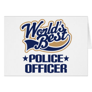 Cartes Cadeau de policier