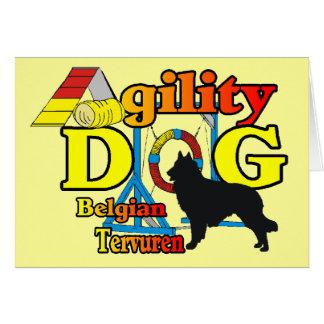 Cartes Cadeaux de chemises d'agilité de Tervuren de Belge