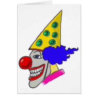 Cartes Cadeaux de clown d'anniversaire