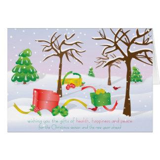 Cartes Cadeaux de Noël