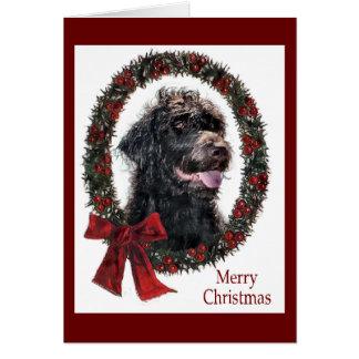 Cartes Cadeaux de Noël de Labradoodle