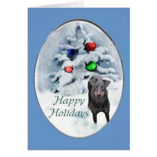 Cartes Cadeaux de Noël de Manchester Terrier