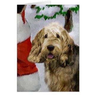 Cartes Cadeaux de Noël d'Otterhound