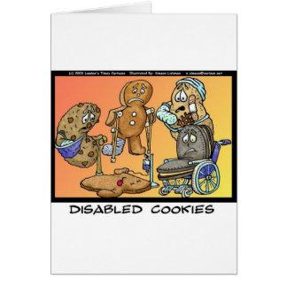 Cartes Cadeaux drôles et objet de collection de biscuits