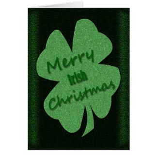 Cartes Cadeaux du jour de St Patrick d'Irlandais