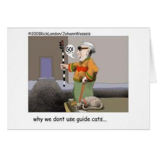 Cartes Cadeaux et objet de collection drôles de chat de