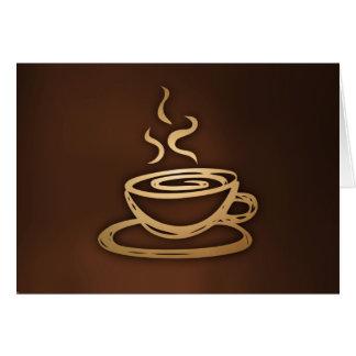 Cartes Café dans ma tasse