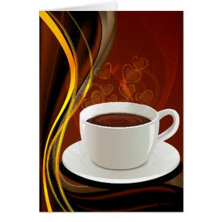 Cartes Café d'art de café