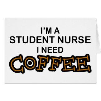 Cartes Café du besoin - élève-infirmière
