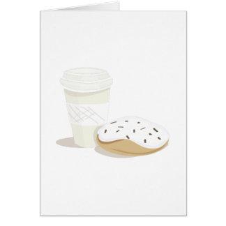 Cartes Café et beignet