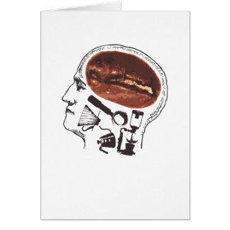Cartes Café sur le cerveau