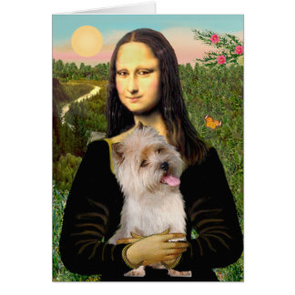 Cartes Cairn Terrier 9 - Mona Lisa