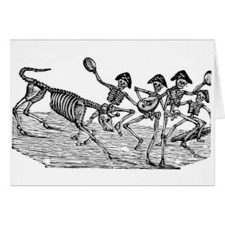 Cartes Calaveras au fonctionnement des taureaux C. 1800's