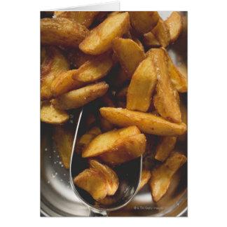 Cartes Cales de pomme de terre avec du sel (détail)