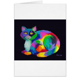 Cartes Calicot coloré