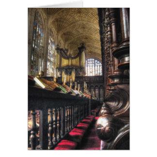 Cartes ~ Cambridge, Angleterre de College Chapel du Roi