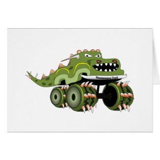 Cartes Camion de Monstersaurus
