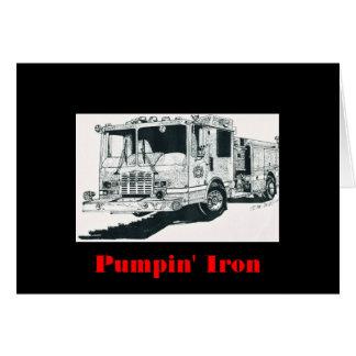 Cartes Camion de pompiers