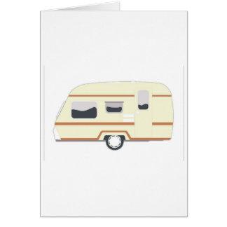 Cartes Camping de remorque de campeur Van