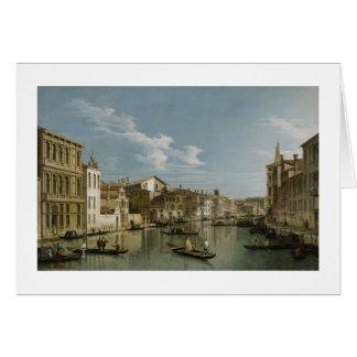 Cartes Canal grand de Palazzo Flangini à Palazzo Bembo