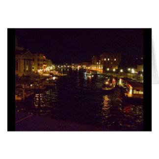 Cartes Canal grand la nuit