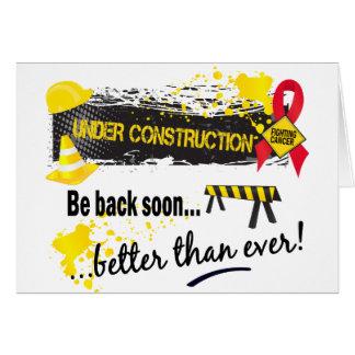 Cartes Cancer de sang en construction