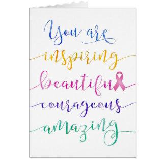 Cartes Cancer du sein - rappelez-vous qui vous êtes