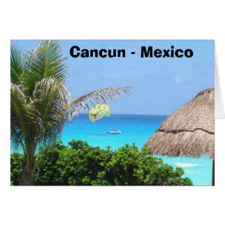 Cartes Cancun - le Mexique