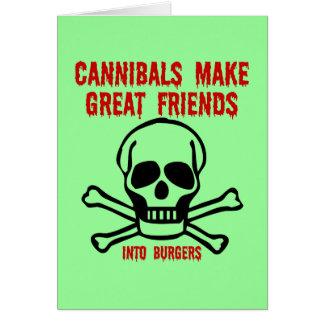 Cartes Cannibales drôles