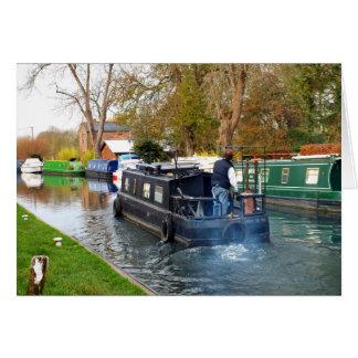 Cartes Canotage sur le canal de Newbury