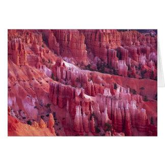Cartes Canyon de Bryce, Utah, Etats-Unis