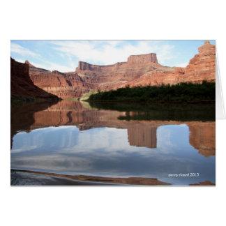 Cartes Canyonlands sur le fleuve Colorado