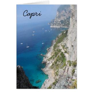 Cartes Capri, Italie