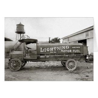 Cartes Carburant de foudre Truck, 1920