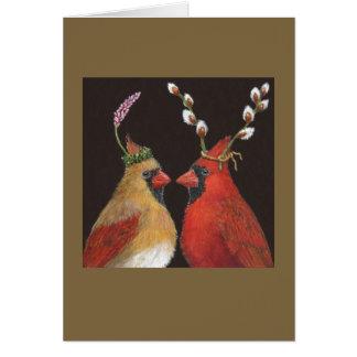 Cartes Cardinaux de printemps