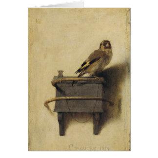 Cartes Carel Fabritius le chardonneret